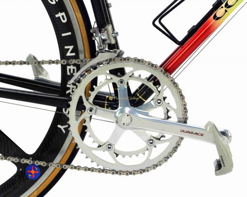 COLNAGO Carbitubo Ariostea Team 1991-92, Shimano Dura Ace, vintage collectible bike