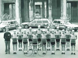 Fiorella Citroen Team with Guerciotti bikes