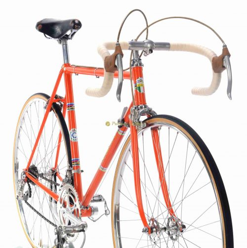 1968 COLNAGO Freccia Campagnolo Nuovo Record, Eroica vintage steel collectible bike
