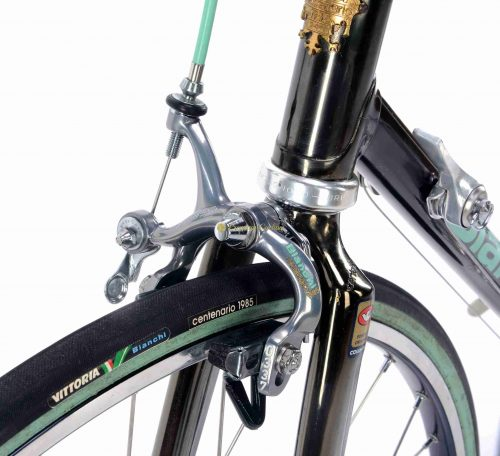 BIANCHI Centenario 1985 100th Anniversary Campagnolo C Record pantograph, vintage steel collectible bike