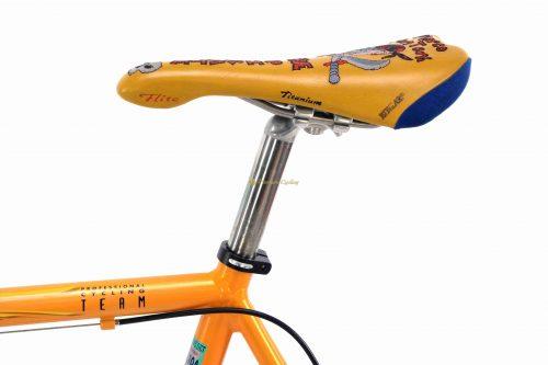 BIANCHI Mega Pro XL Mercatone Uno 1998 Marco Pantani Tour de France replica, vintage collectible bicycle