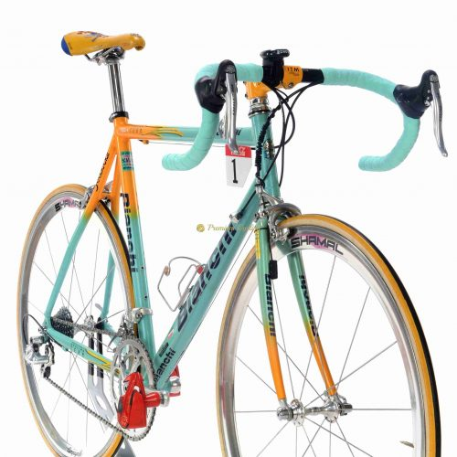 BIANCHI Mega Pro XL Mercatone Uno 1998 Marco Pantani Tour de France replica, vintage collectible bicycle
