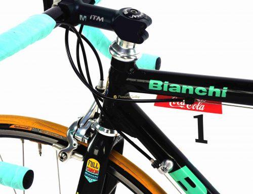 BIANCHI XL EV2 Pantani Mercatone Uno 2000 Campagnolo Record 10s, vintage collectible bike