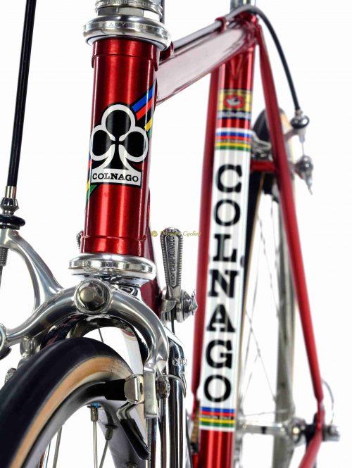 COLNAGO Nuovo Mexico Profil 1983, Campagnolo Super Record, Eroica vintage steel collectible bike