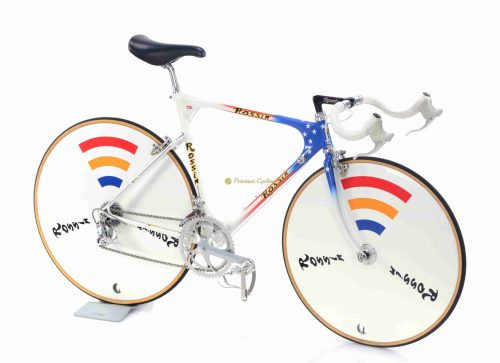 Late 1980s ROSSIN CX America 26-28 (650-700) collectible vintage steel time trial bike