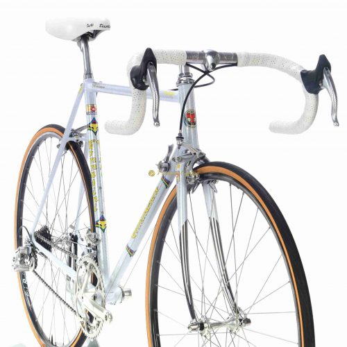 Late 1980s Tommasini Prestige Campagnolo Chorus Croce dAune, collectible vintage steel bike