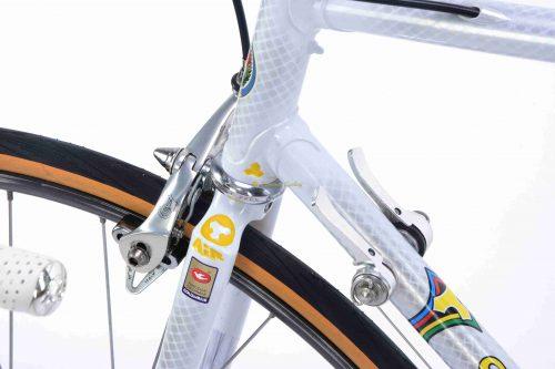 Late 1980s Tommasini Prestige Campagnolo Chorus Croce dAune, collectible vintage steel bike