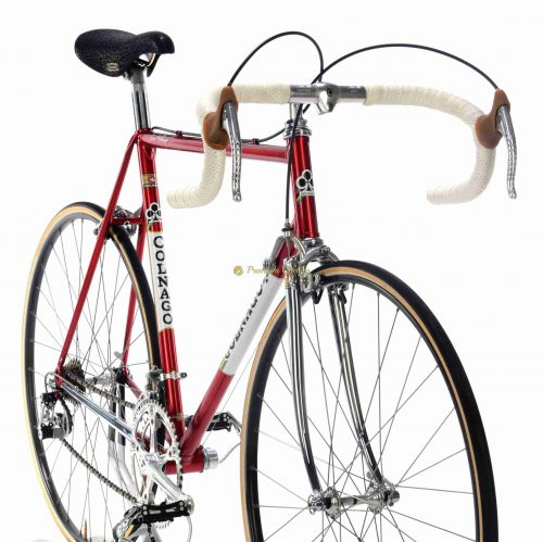 1978-79 COLNAGO Super Saronni, Campagnolo Super Record, Eroica vintage steel bicycle