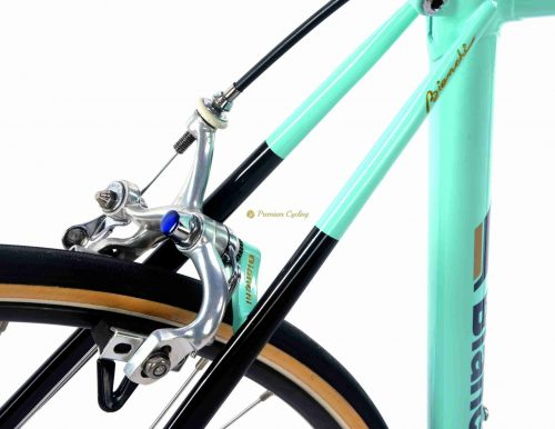 1986 BIANCHI Specialissima X4 SLX, C record Cobalto, Eroica vintage steel collectible bike