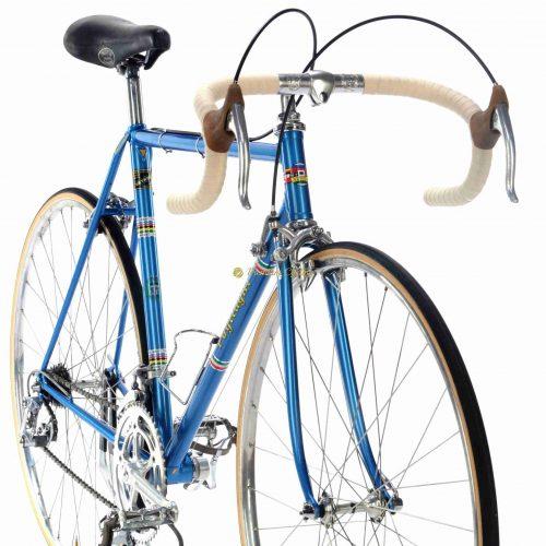 Mid 1970s POGLIAGHI Italcorse, Reynolds tubing, Campagnolo Nuovo Record, Eroica vintage steel bike