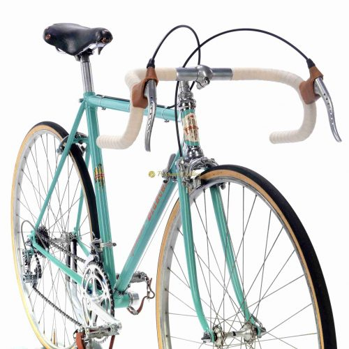 1960-61 BIANCHI Specialissima Campagnolo Record 1st gen, Eroica vintage steel collectible bike