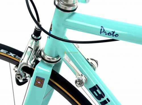 1991 BIANCHI Proto Columbus MAX Campagnolo C Recrod Delta, vintage steel collectible bike