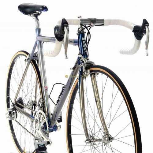 1994 Moser Titanio Campagnolo Record 8s, vintage collectible titanium bike