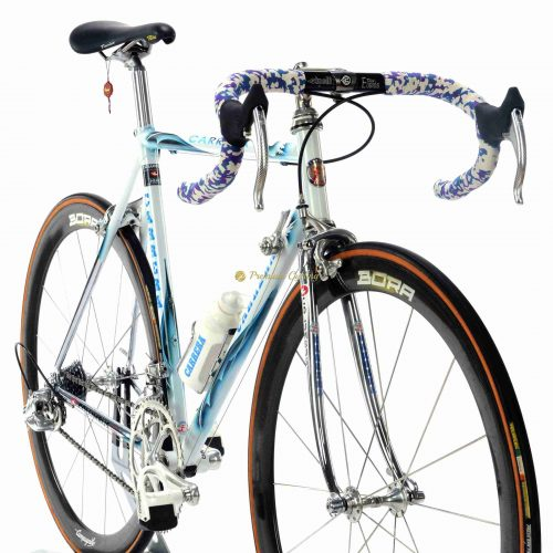 1996 CARRERA Eagle by Pegoretti, Columbus NEMO, Campagnolo Record 8s Bora, vintage steel collectible bike