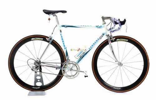 1996 CARRERA Eagle by Pegoretti, Columbus NEMO, Campagnolo Record 8s Bora, vintage steel collectible bike