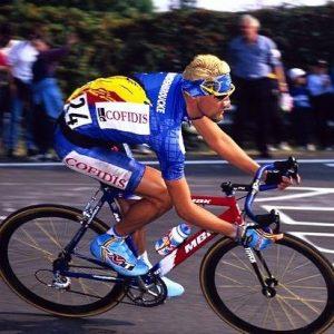Frank Vandenbroucke with ADA wheels