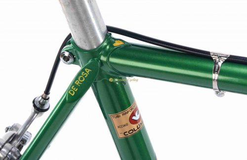 1971 DE ROSA Strada Nuovo Record, Eroica vintage steel collectible bike, Premium Cycling
