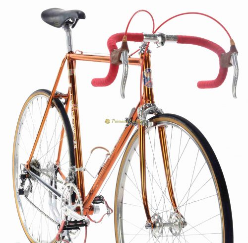 1975 WILIER Triestina Ramata, Campagnolo Super Record 1st gen, Eroica vintage steel collectible bike