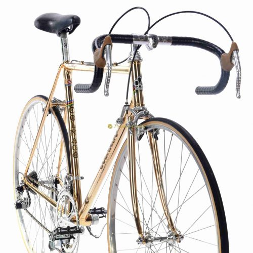 1978 COLNAGO Mexico Oro, Campagnolo Super Record, Eroica vintage steel luxury bike