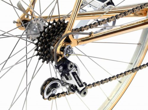1978 COLNAGO Mexico Oro, Campagnolo Super Record, Eroica vintage steel luxury bike
