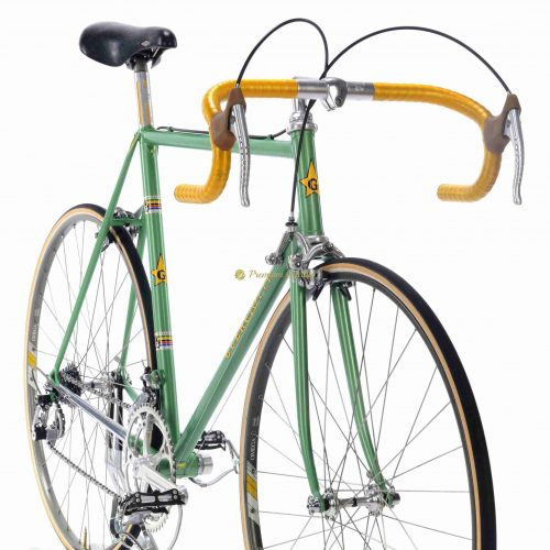 Early 1980s GUERCIOTTI SL Super Record, L'Eroica vintage steel collectible retro bicycle