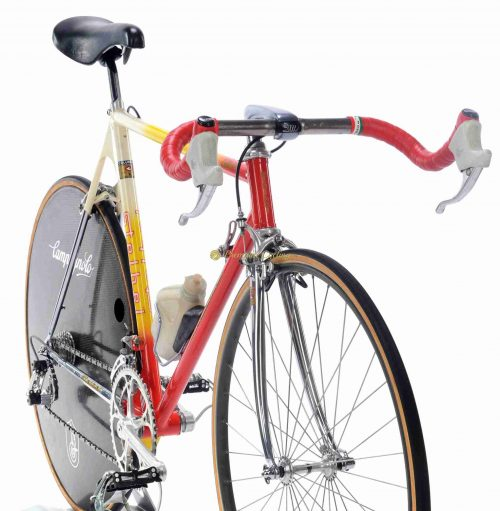 Mid 1980s STELBEL Dynamic Crono 26''-28'' (650c-700c), vintage steel collectible time trial bike