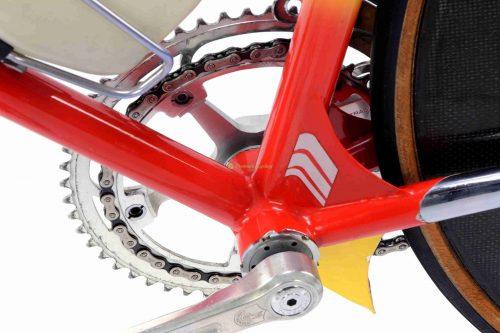 Mid 1980s STELBEL Dynamic Crono 26''-28'' (650c-700c), vintage steel collectible time trial bike