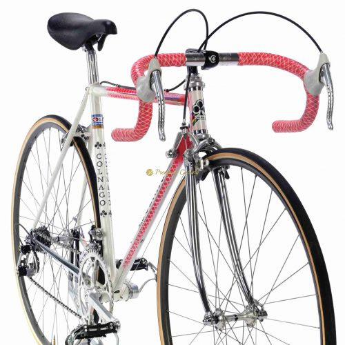 1985 COLNAGO Master Gilco S4 Rosso retinato, Campagnolo Super Record, L'Eroica vintage steel collectible bicycle by Premium Cycling