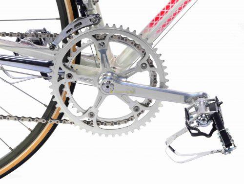 1985 COLNAGO Master Gilco S4 Rosso retinato, Campagnolo Super Record, L'Eroica vintage steel collectible bicycle by Premium Cycling