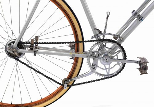 1930s MAINO Campionissimo Vittoria Margheritta gears, Eroica vintage steel collectible museum bike by Premium Cycling