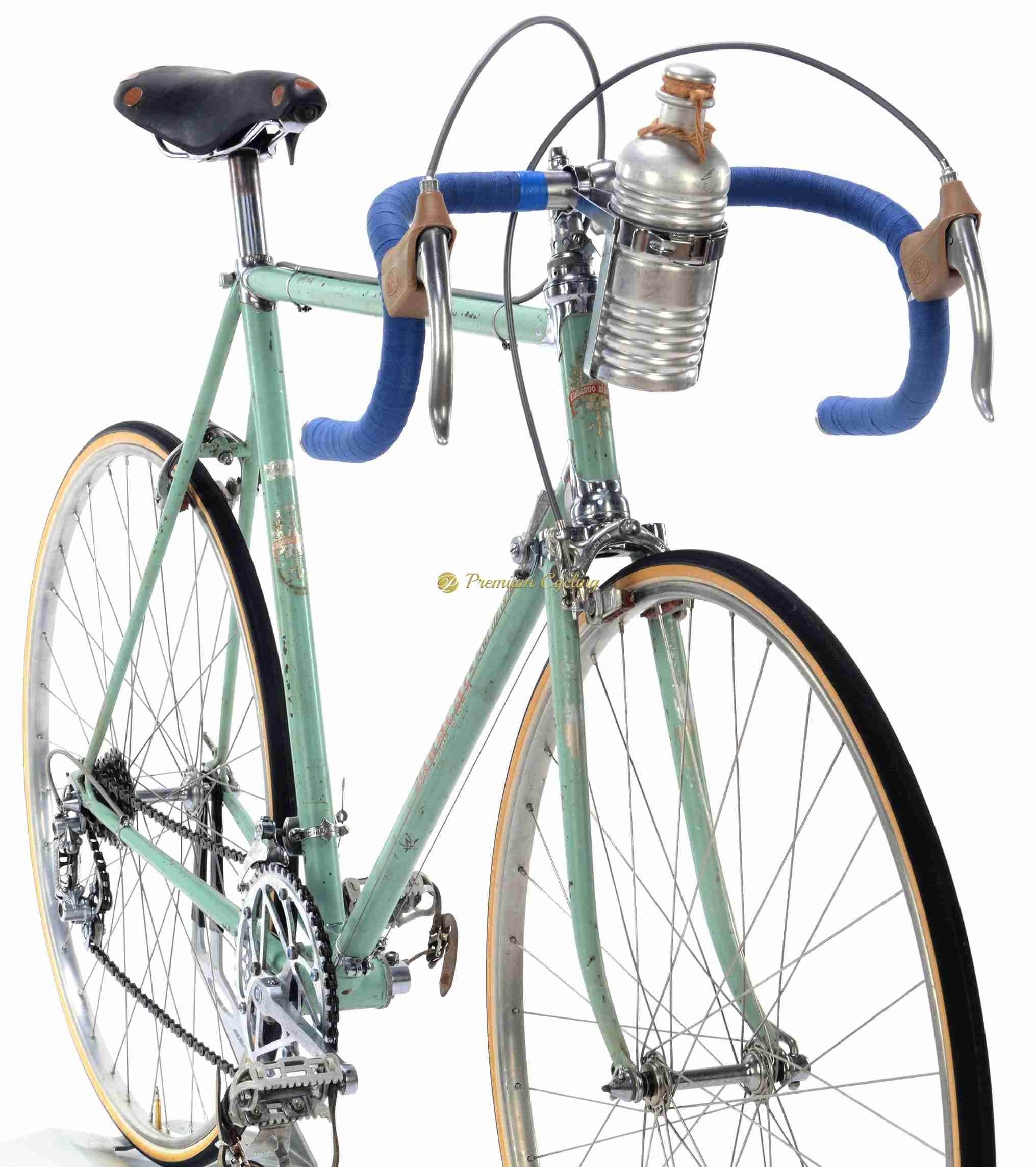 Bianchi Tour De France Campagnolo Gran Sport 59 5cm 1952 Sold Premium Cycling Website For Steel And Collectible Vintage Bikes Parts And Clothing