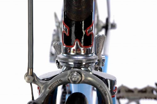 1957 PINZANI Corsa by Giusto Pinzani, Campagnolo Gran Sport, Eroica vintage steel collectible bike by Premium Cycling