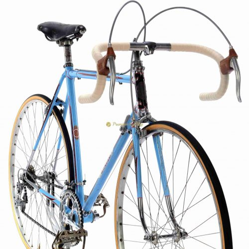 1957 PINZANI Corsa by Giusto Pinzani, Campagnolo Gran Sport, Eroica vintage steel collectible bike by Premium Cycling