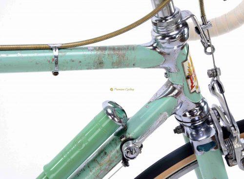 1960 BIANCHI Specialissima Campagnolo Gran Sport Record, Eroica vinatge steel bike
