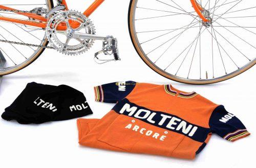 1972 COLNAGO Super Molteni ''Eddy Merckx Team'' Campagnolo Nuovo Record, L'Eroica vintage steel collectible bike by Premium Cycling