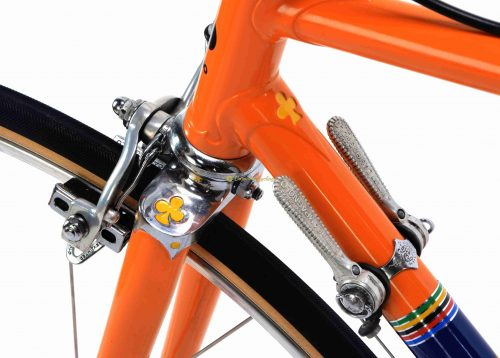 1972 COLNAGO Super Molteni ''Eddy Merckx Team'' Campagnolo Nuovo Record, L'Eroica vintage steel collectible bike by Premium Cycling