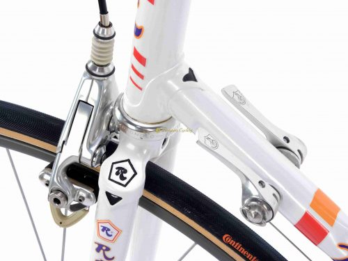 1987 ROSSIN Ghibli SLX, Campagnolo C Record Delta 1987, Eroica vintage steel collectible bike by Premium Cycling