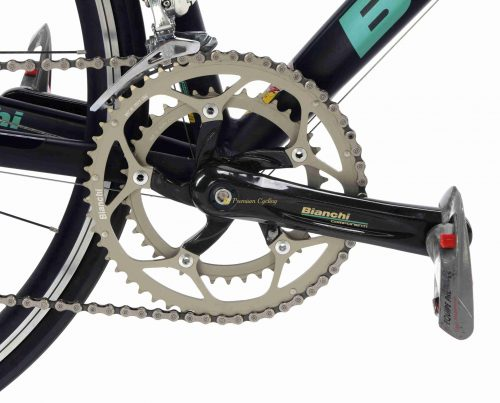 2001 BIANCHI XL EV4 - M-Pantani Mercatone Uno, vintage collectible racing bike by Premium Cycling
