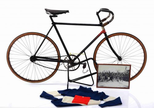 LA FRANCAISE DIAMANT Course racing bike 1905-1907, L'Eroica vintage steel collectible museum bicycle by Premium Cycling