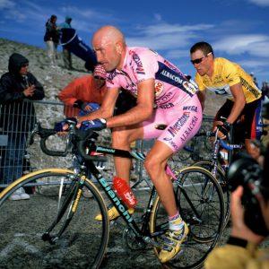 M.Pantani (Mercatone Uno) at the Tour de France 2000
