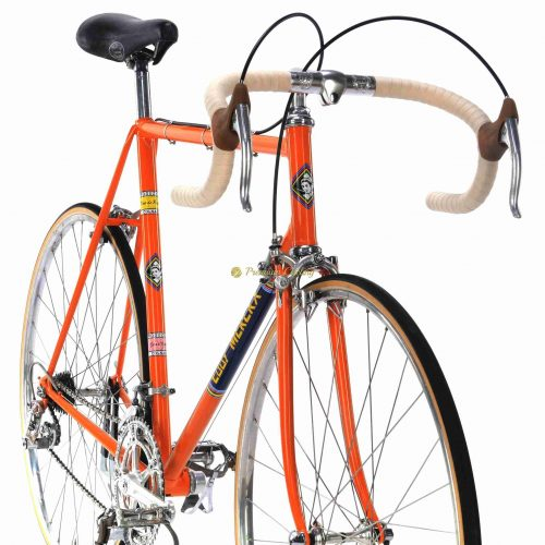 1972 COLNAGO Super Eddy Merckx Molteni 59cm Campagnolo Nuovo Record + Molteni jersey, vintage steel collectible bike by Premium Cycling