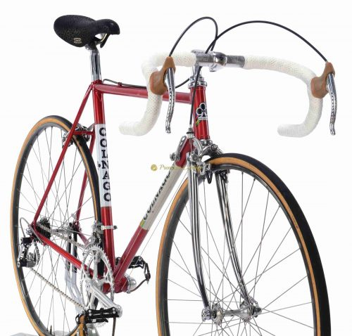 1980-81 COLNAGO Super Saronni Campagnolo Super Record, L'Eroica vintage steel colelctible bike by Premium Cycling