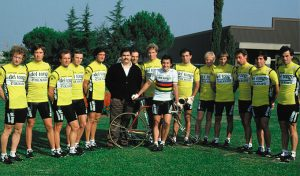 G.Saronni with Del Tongo Colnago Team 1983