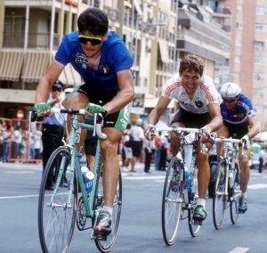 Gianni Bugno (Italy) at the 1992 World Championships Benidorm 1992