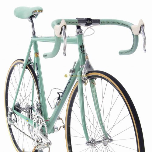 1989 BIANCHI Proto Reparto Corse, Columbus MAX, Campagnolo C Record, vintage steel collectible bike by Premium Cycling