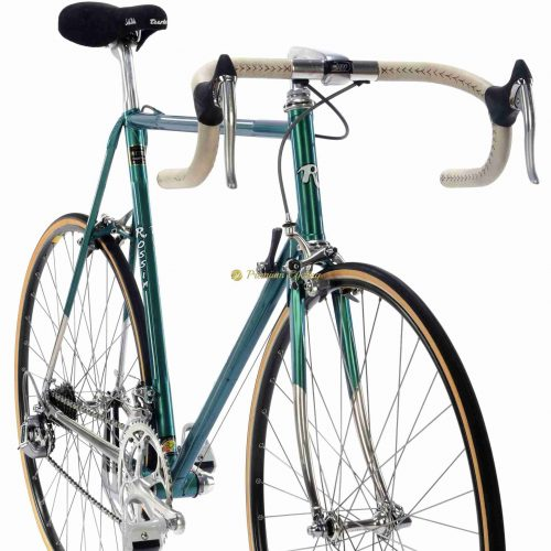 Early 1990s ROSSIN Prestige, Shimano Dura Ace 7402, vintage steel collectible bike