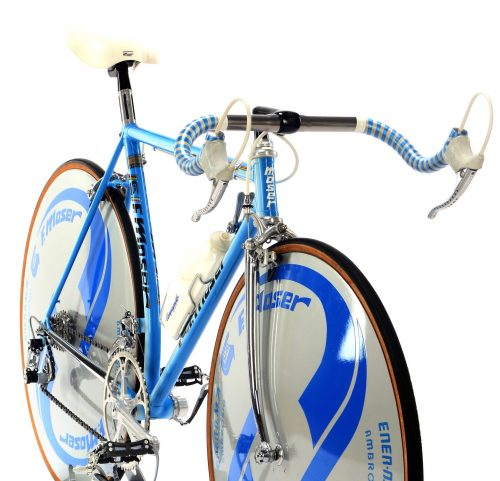 MOSER 51.151 time trial vintage bike, mid 1980s, steel collectible bicycle by Premium Cycling
