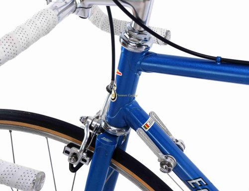 1980-81 EDDY MERCKX Professional by Ugo DE ROSA, Campagnolo Super Record, Eroica vintage steel collectible bike by Premium Cycling