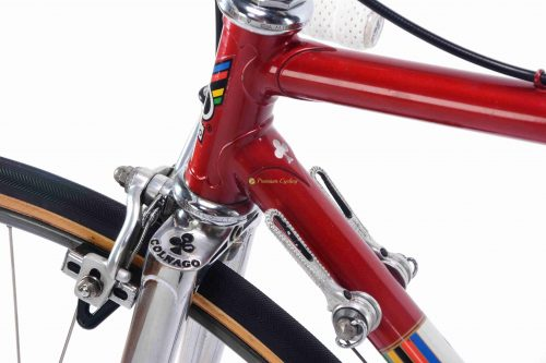 1981 COLNAGO Super Saronni, Campagnolo Super Record, Eroica vintage steel collectible bicycle by Premium Cycling