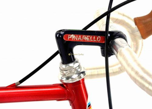 1985 PINARELLO Montello SLX Prototype, Campagnolo 50th Anniversary, L'Eroica vintage steel collectible bicycle by Premium Cycling